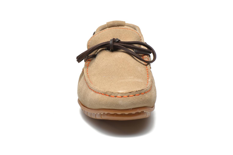 Mocassins TBS Klever Beige vue portées chaussures