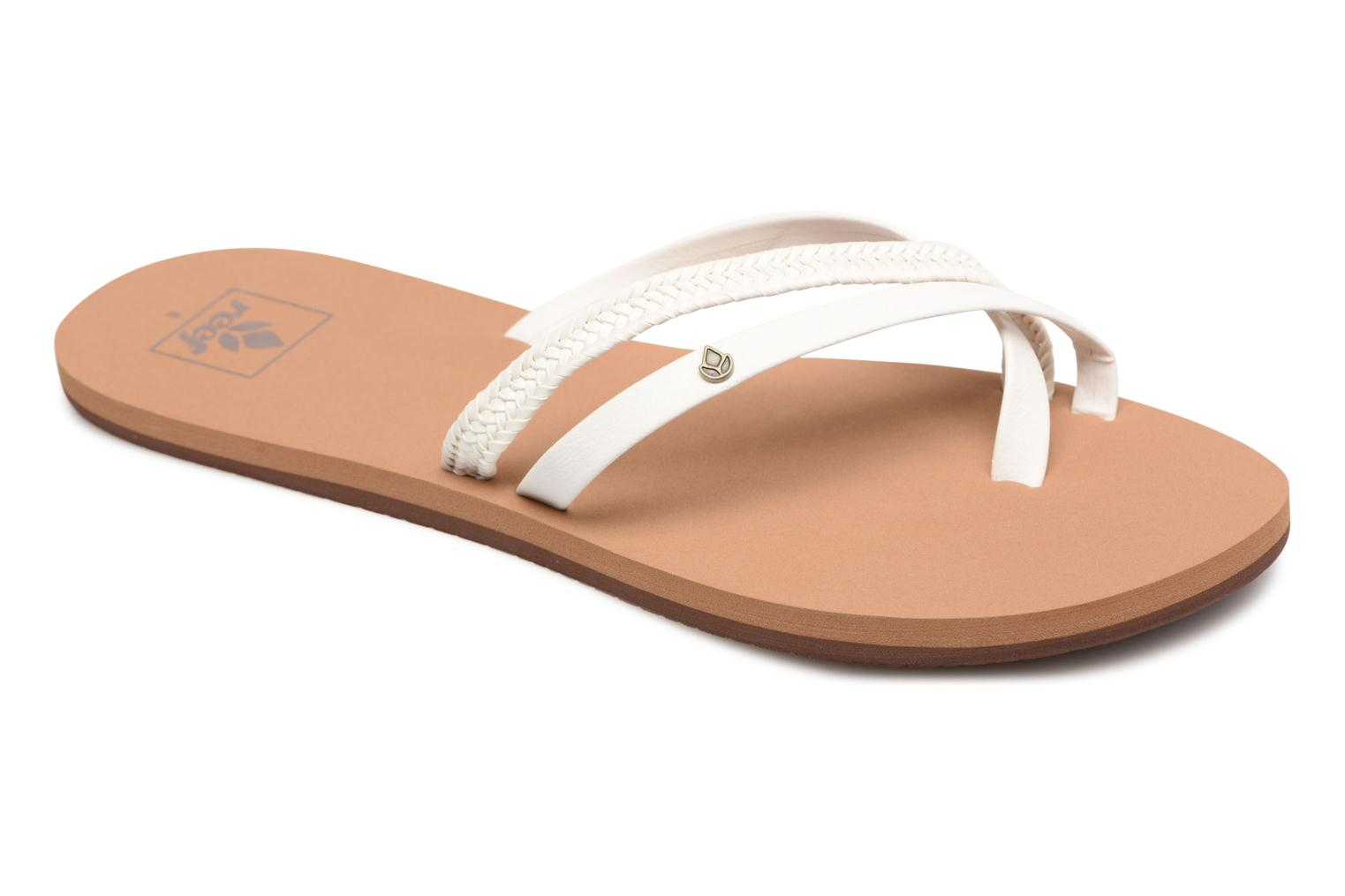 Tongs Reef O'Contrare LX Blanc vue détail/paire