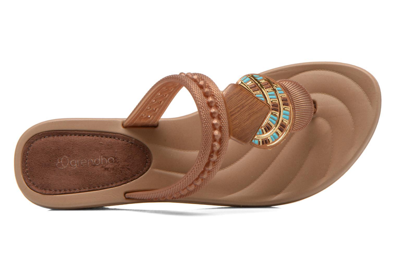 Tribal Plat Fem Brown/Gold