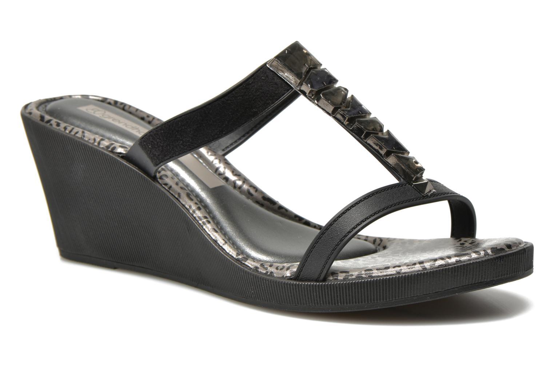 Mules & clogs Grendha Jewel Plat Black detailed view/ Pair view