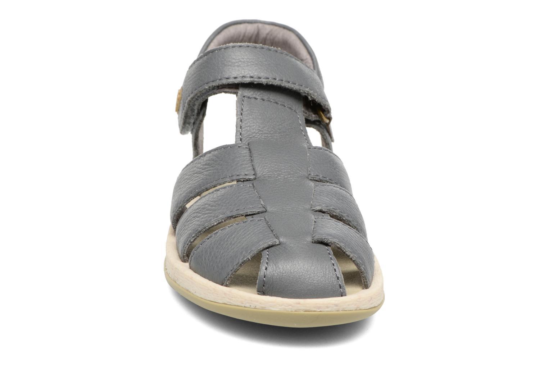 Sandales et nu-pieds Camper Bicho E Gris vue portées chaussures