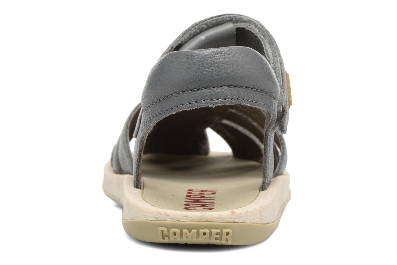 Sandales et nu-pieds Camper Bicho E Gris vue droite