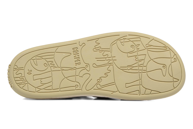 Sandales et nu-pieds Camper Bicho E Gris vue haut