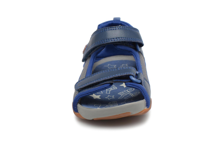 Sandalias Camper Ous E Azul vista del modelo
