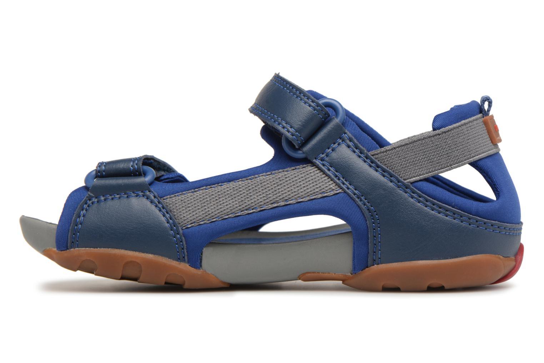 Sandalias Camper Ous E Azul vista de frente