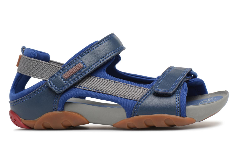 Sandalias Camper Ous E Azul vistra trasera