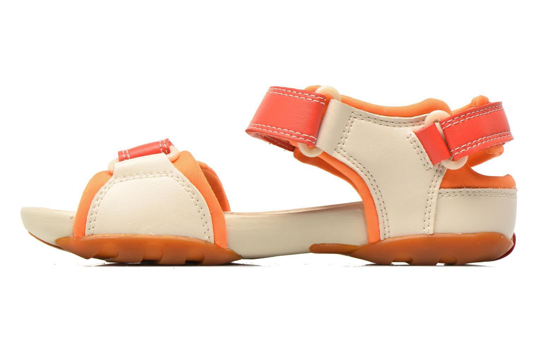 Sandals Camper Ous K8 Beige front view