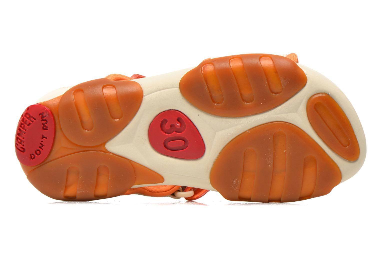 Sandales et nu-pieds Camper Ous K8 Beige vue haut