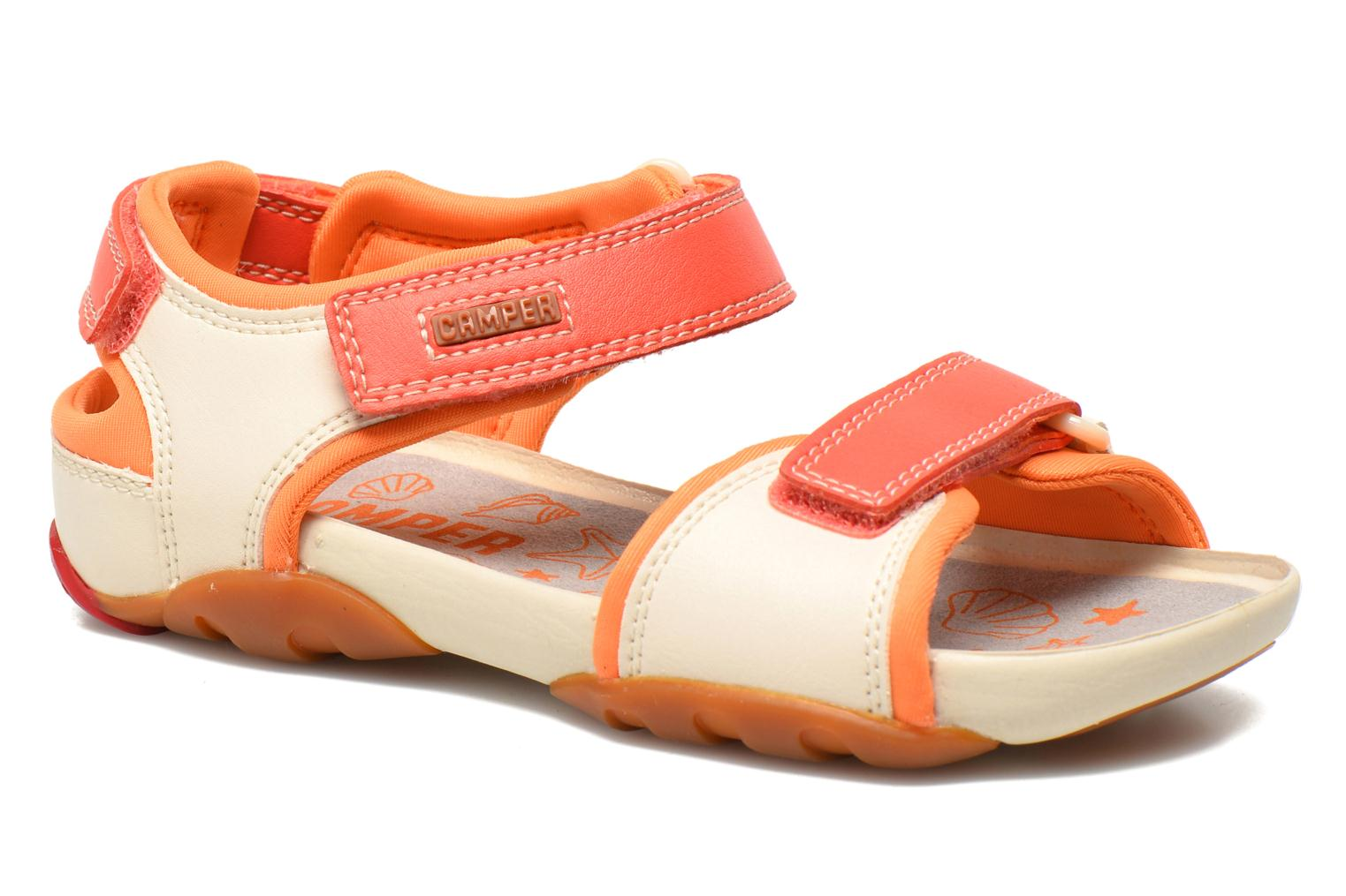 Sandals Camper Ous K8 Beige detailed view/ Pair view