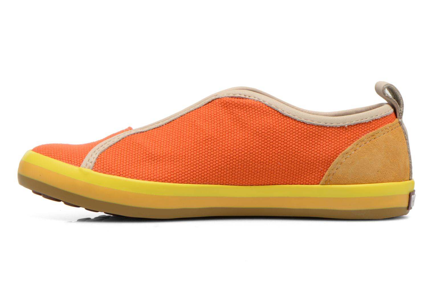 Baskets Camper Pelotas E Orange vue face