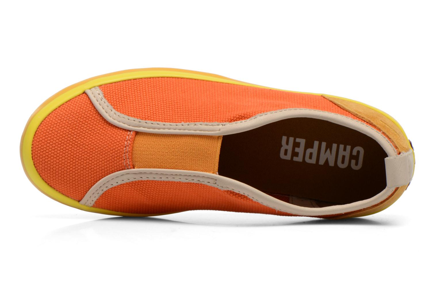 Baskets Camper Pelotas E Orange vue gauche