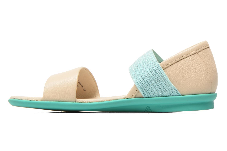 Sandales et nu-pieds Camper Pelotas Summer Blanc vue face