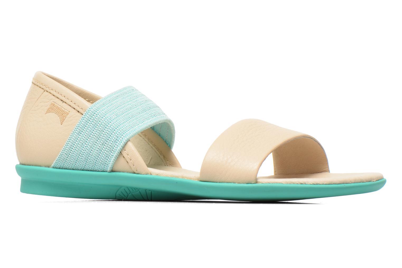 Sandales et nu-pieds Camper Pelotas Summer Blanc vue derrière