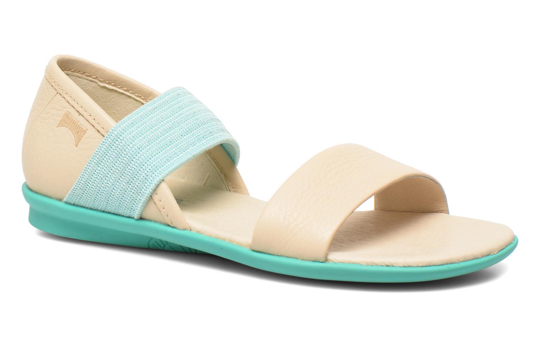 Sandales et nu-pieds Camper Pelotas Summer Blanc vue détail/paire