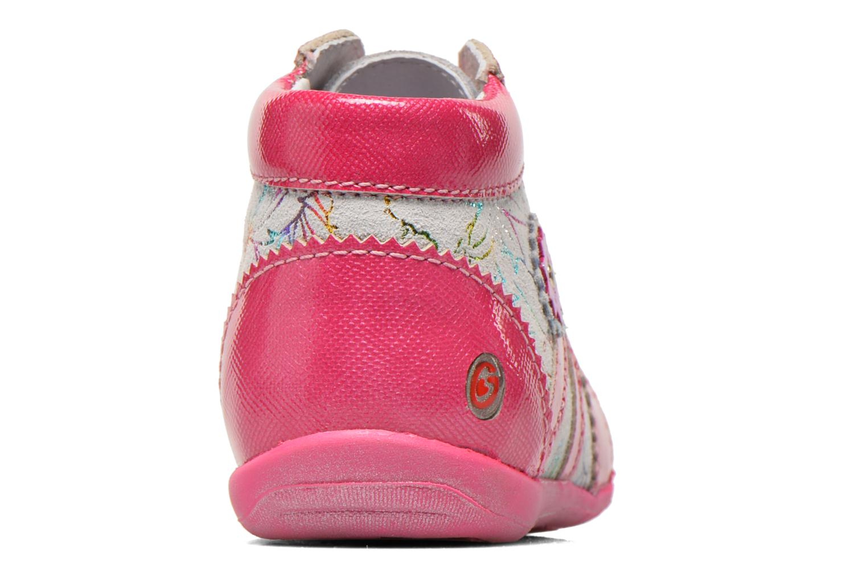 Bottines et boots GBB Manelle Rose vue droite