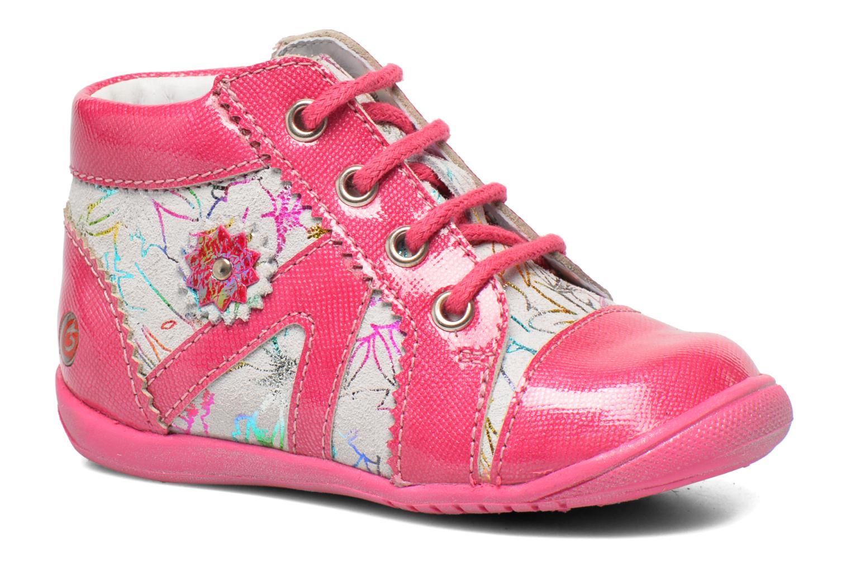 Bottines et boots GBB Manelle Rose vue détail/paire