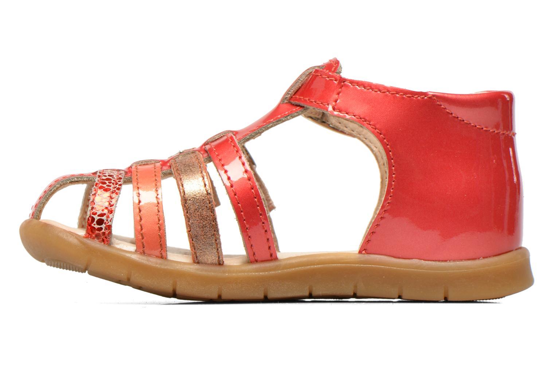 Sandales et nu-pieds GBB Mina Rose vue face
