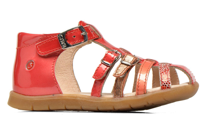 Sandales et nu-pieds GBB Mina Rose vue derrière