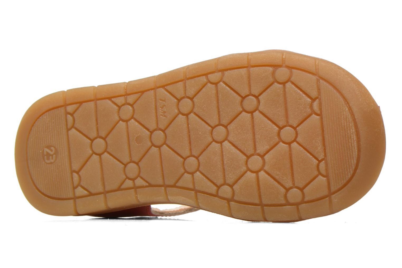 Sandales et nu-pieds GBB Mina Rose vue haut