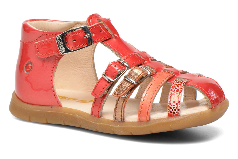 Sandales et nu-pieds GBB Mina Rose vue détail/paire