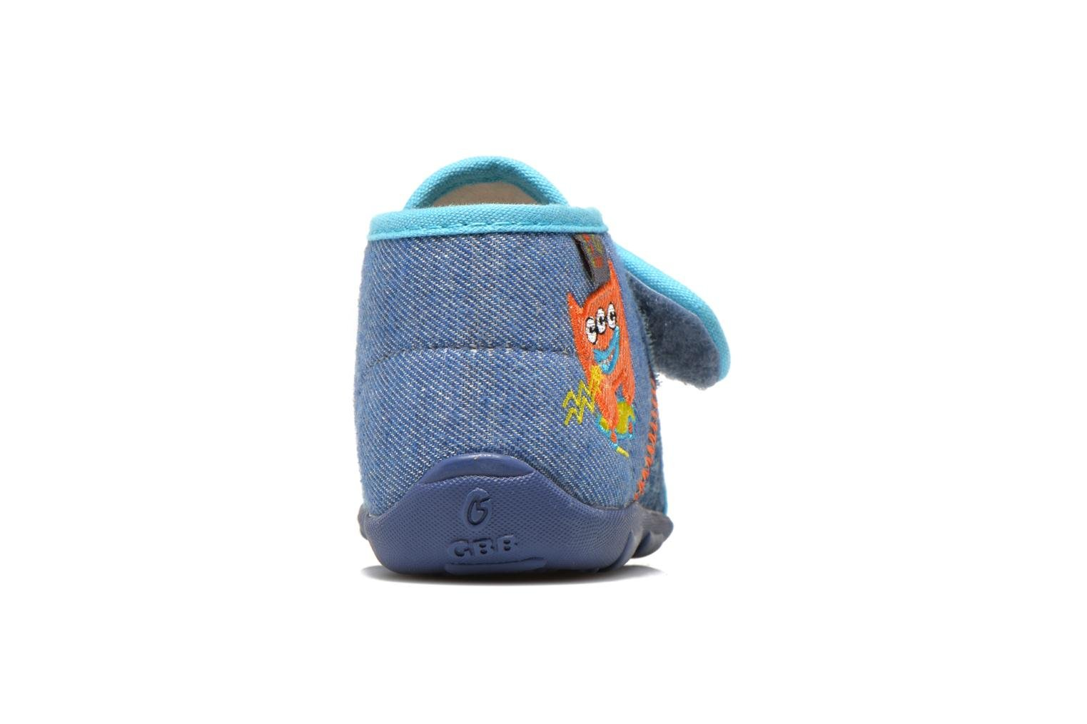 Slippers GBB Maverick Blue view from the right