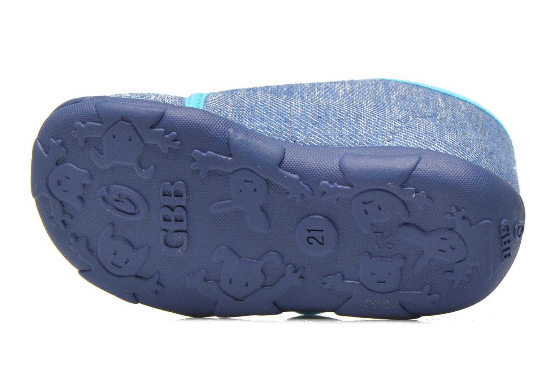 Pantuflas GBB Maverick Azul vista de arriba