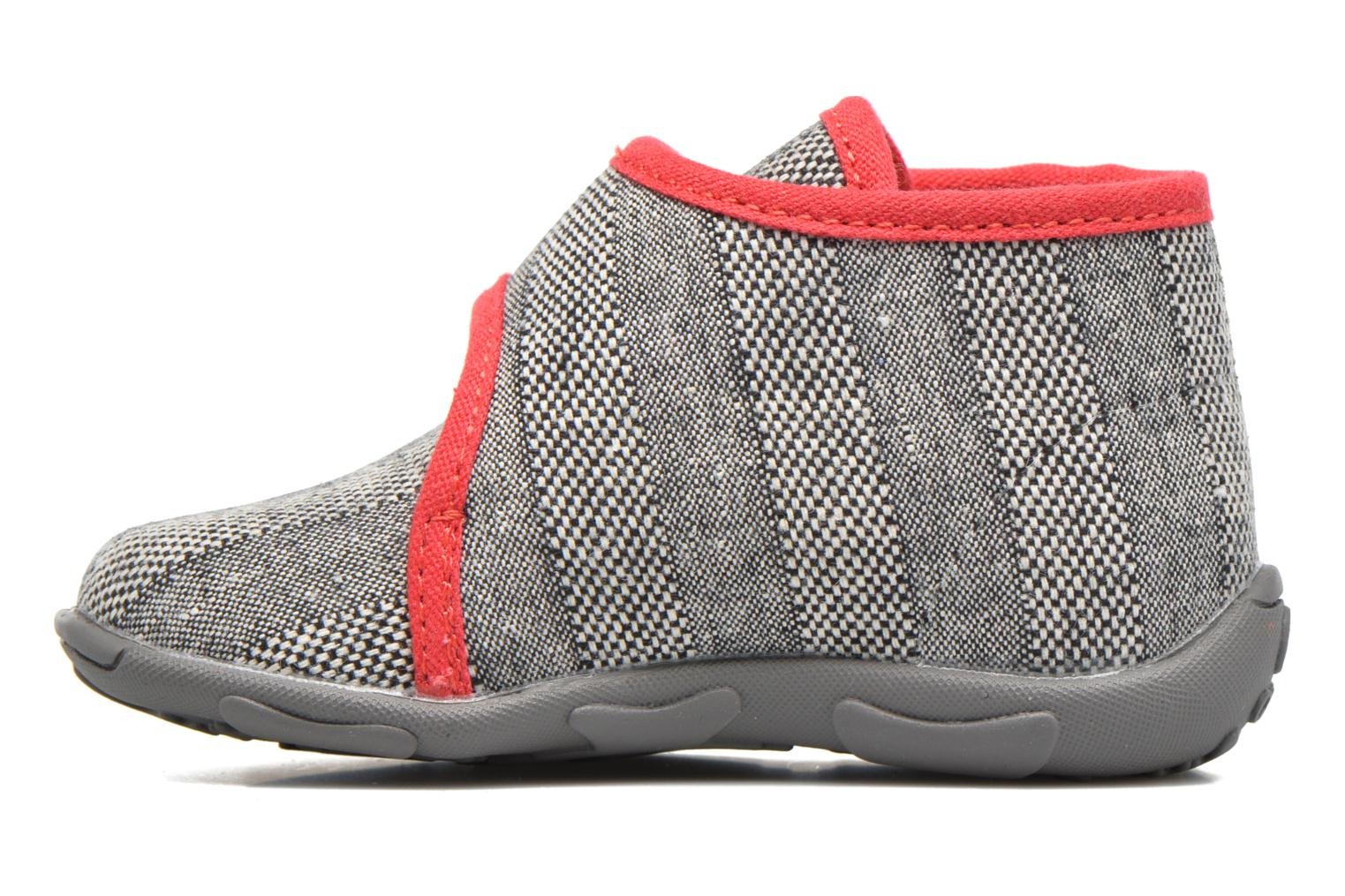 Slippers GBB Maverick Grey front view