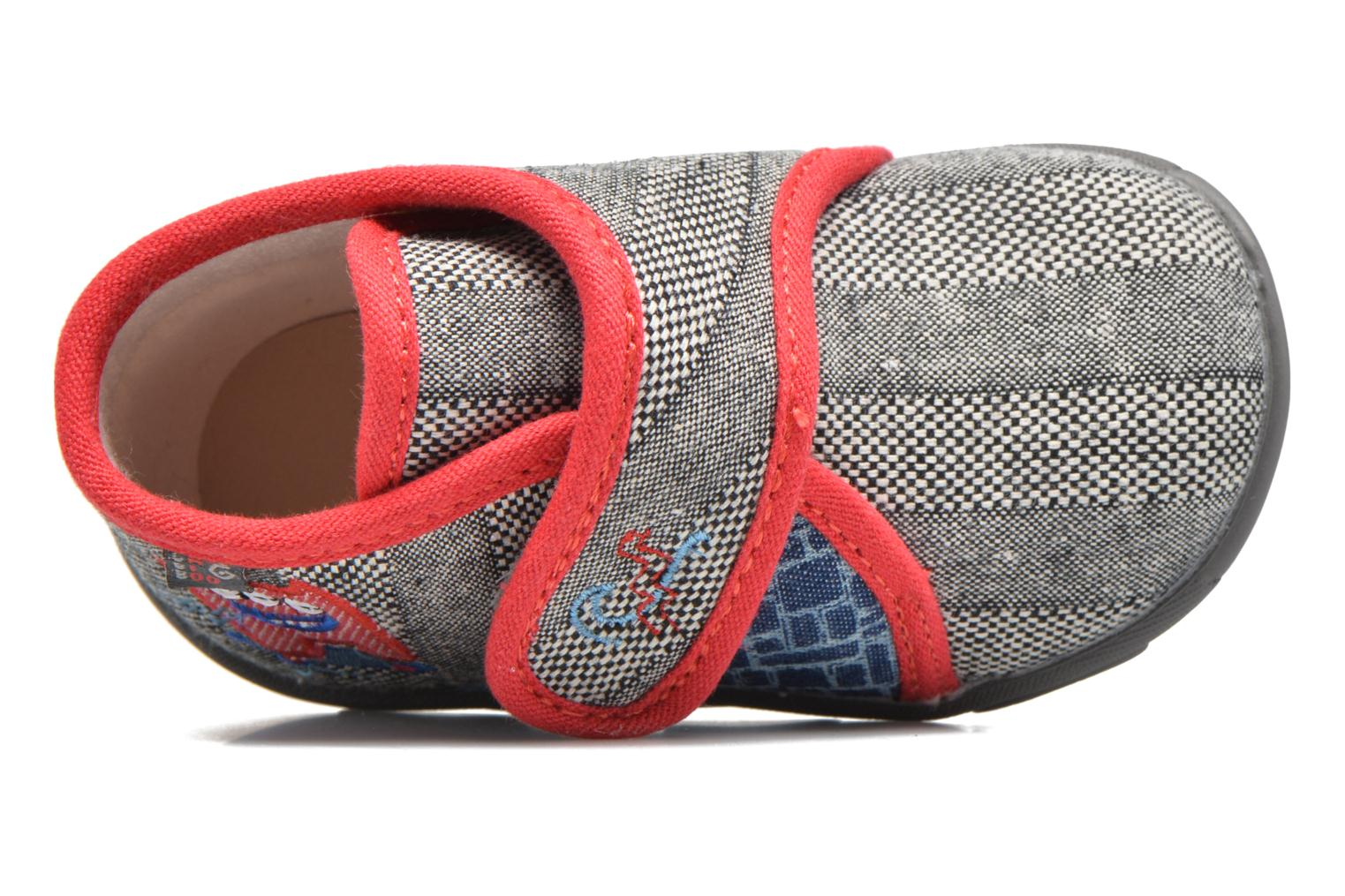 Slippers GBB Maverick Grey view from the left
