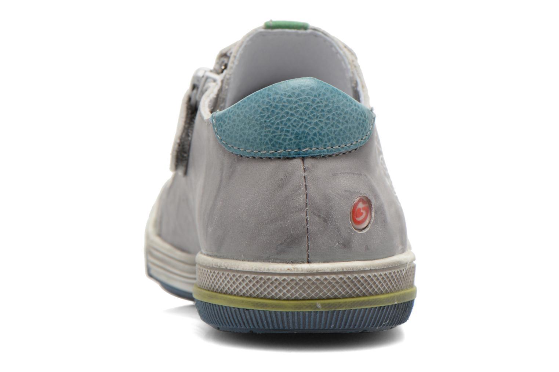 Sneaker GBB Marc grau ansicht von rechts
