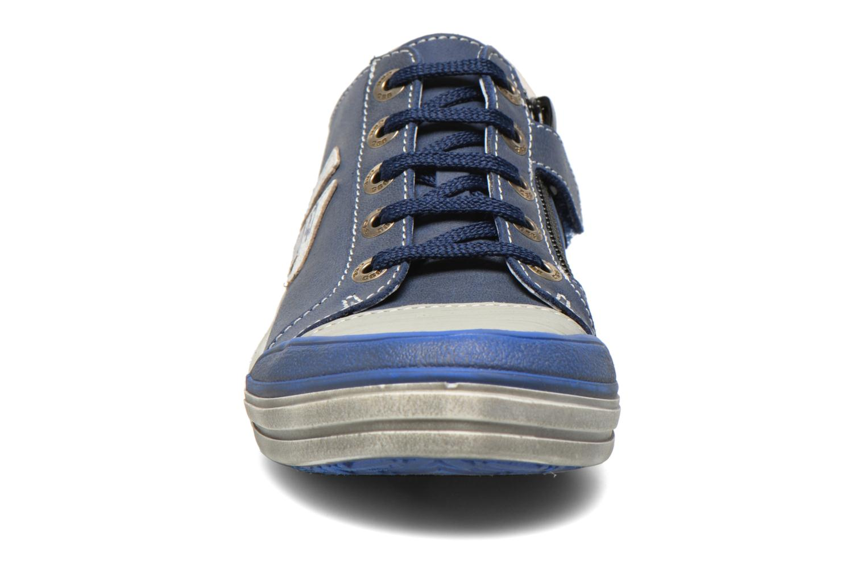 Baskets GBB Marvyn Bleu vue portées chaussures