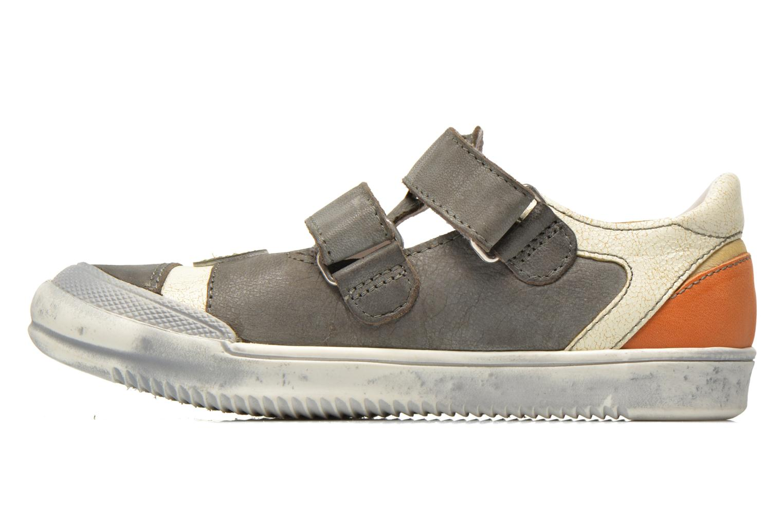 Sneakers GBB Marcelin Grigio immagine frontale