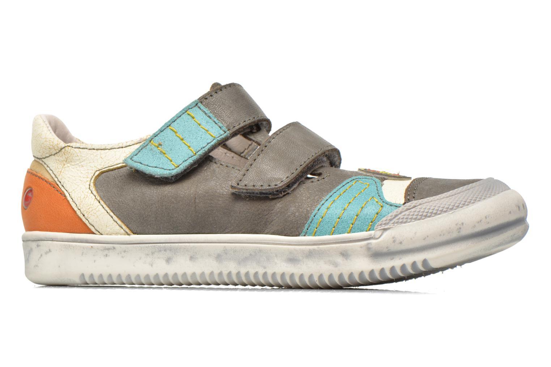 Sneakers GBB Marcelin Grigio immagine posteriore