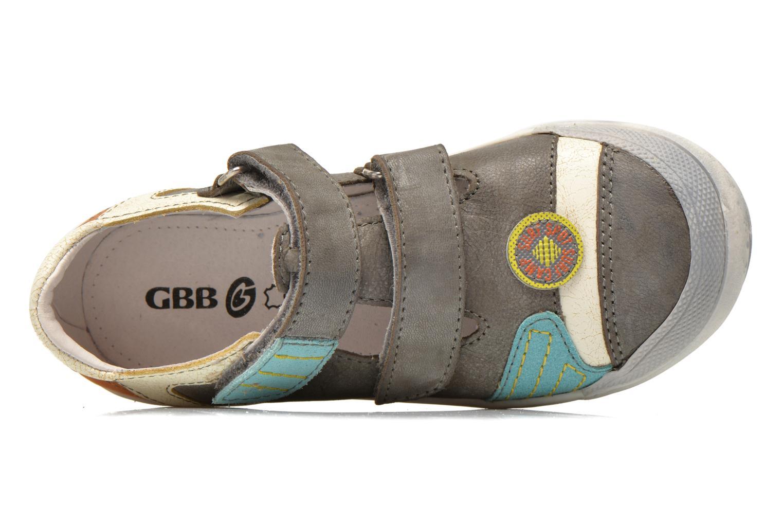 Sneakers GBB Marcelin Grigio immagine sinistra