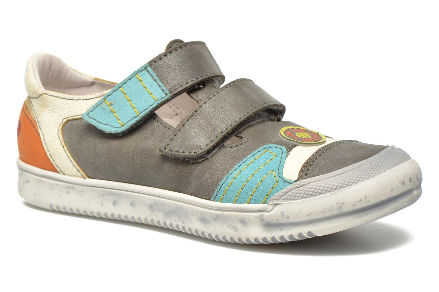 Trainers GBB Marcelin Grey detailed view/ Pair view