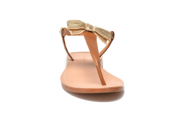 Sandales et nu-pieds Mellow Yellow Ballydolly Or et bronze vue portées chaussures