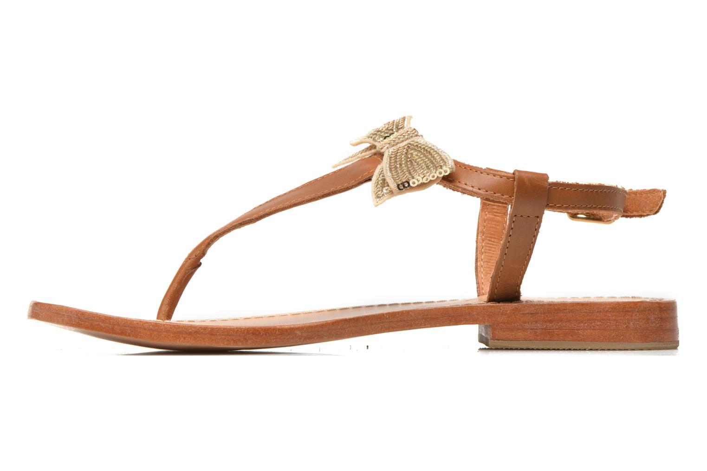 Sandales et nu-pieds Mellow Yellow Ballydolly Or et bronze vue face