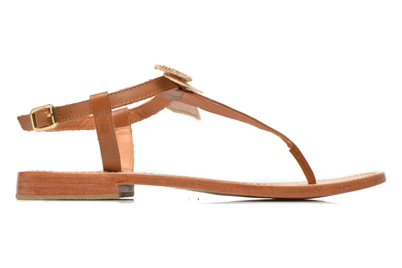 Sandales et nu-pieds Mellow Yellow Ballydolly Or et bronze vue derrière