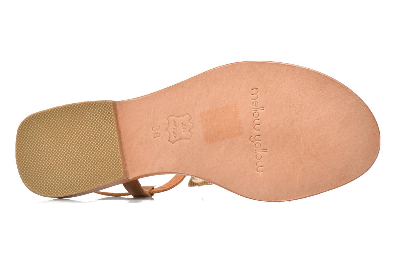 Sandales et nu-pieds Mellow Yellow Ballydolly Or et bronze vue haut