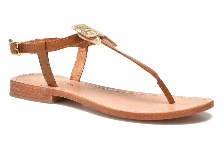 Sandales et nu-pieds Mellow Yellow Ballydolly Or et bronze vue détail/paire