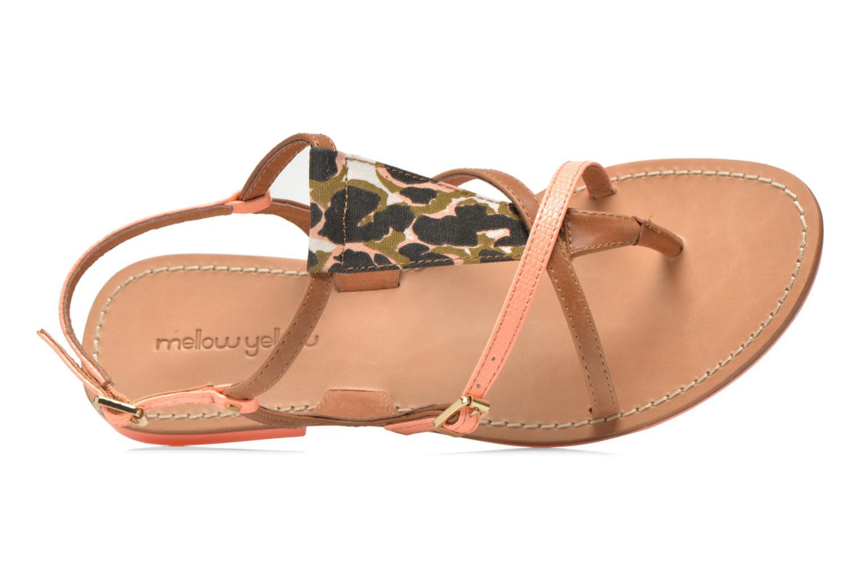 Sandales et nu-pieds Mellow Yellow Vaness Orange vue gauche
