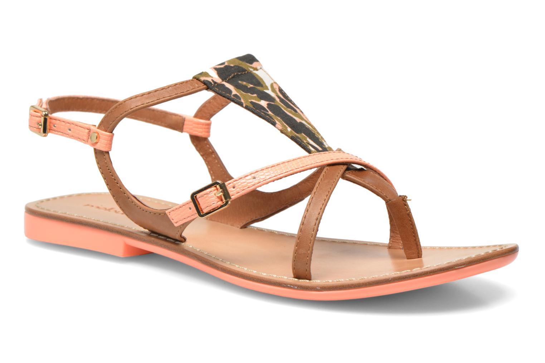 Sandales et nu-pieds Mellow Yellow Vaness Orange vue détail/paire