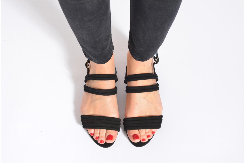 Sandales et nu-pieds Mellow Yellow Veo Or et bronze vue bas / vue portée sac