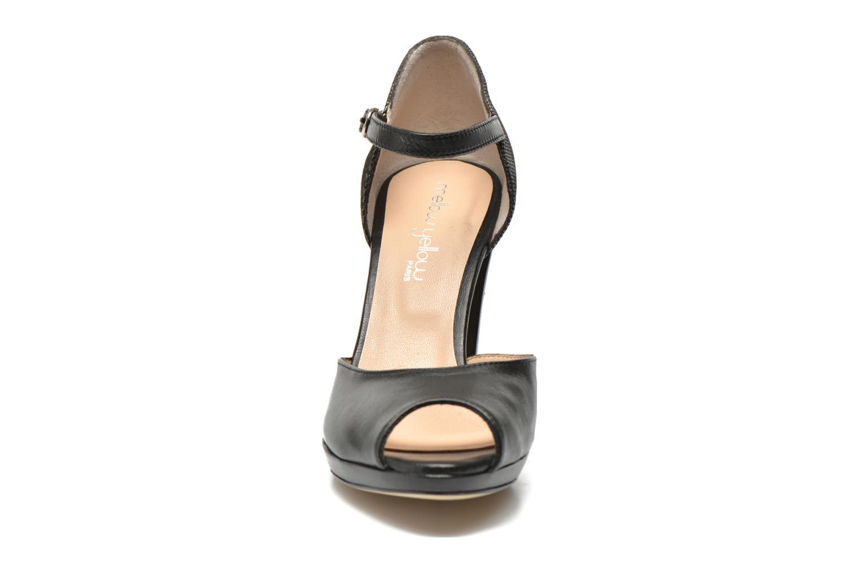 High heels Mellow Yellow Vimane Black model view
