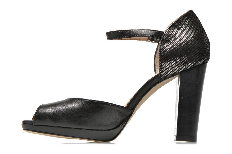 High heels Mellow Yellow Vimane Black front view