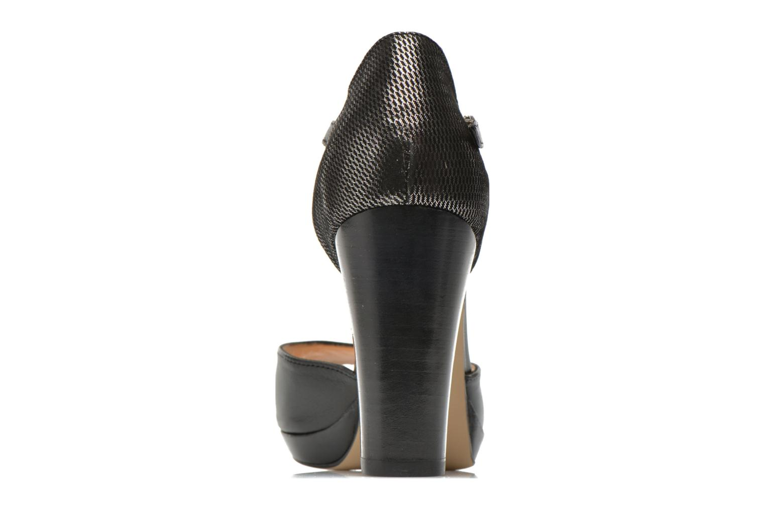 High heels Mellow Yellow Vimane Black view from the right