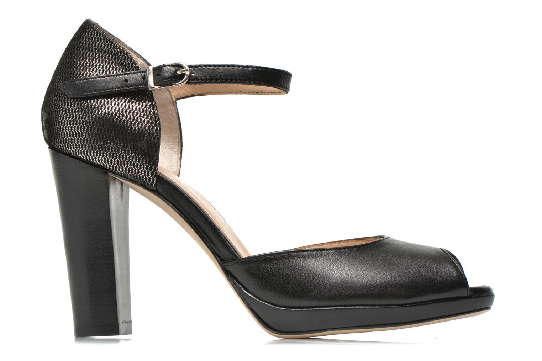 High heels Mellow Yellow Vimane Black back view
