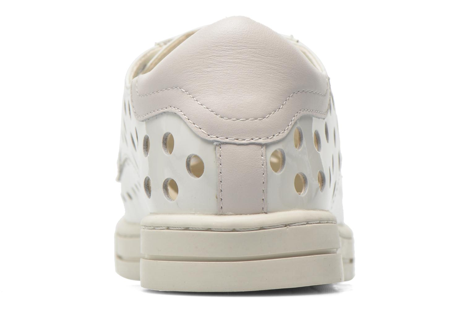 Trainers Mellow Yellow Vadou White view from the right