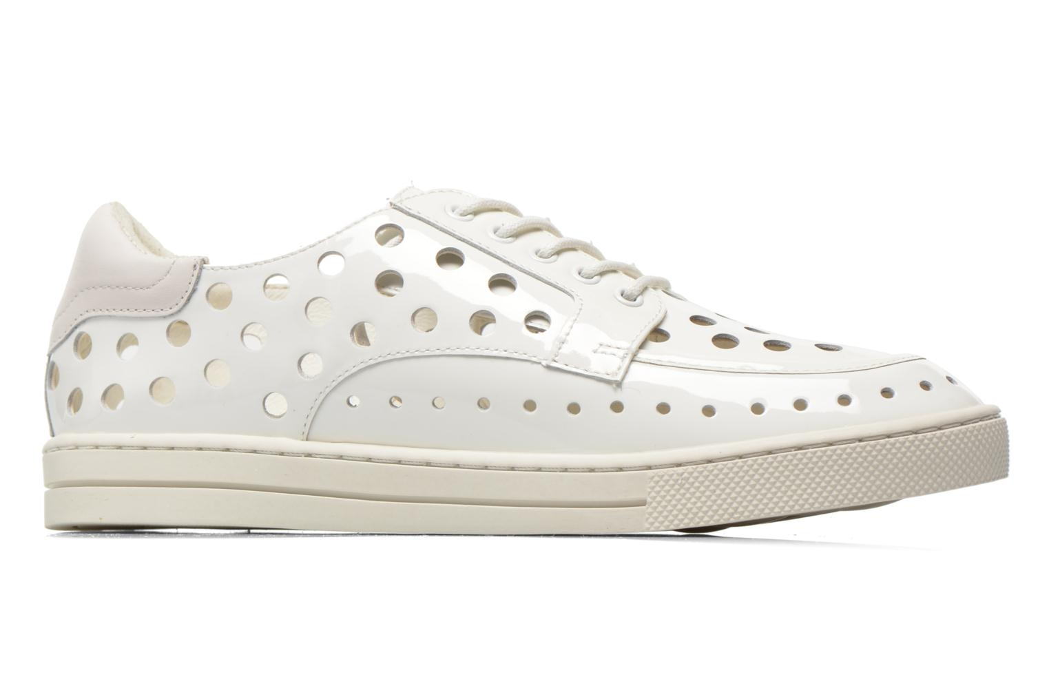 Trainers Mellow Yellow Vadou White back view