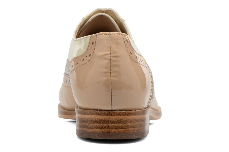 Chaussures à lacets COSMOPARIS Fadia/Ver Beige vue droite
