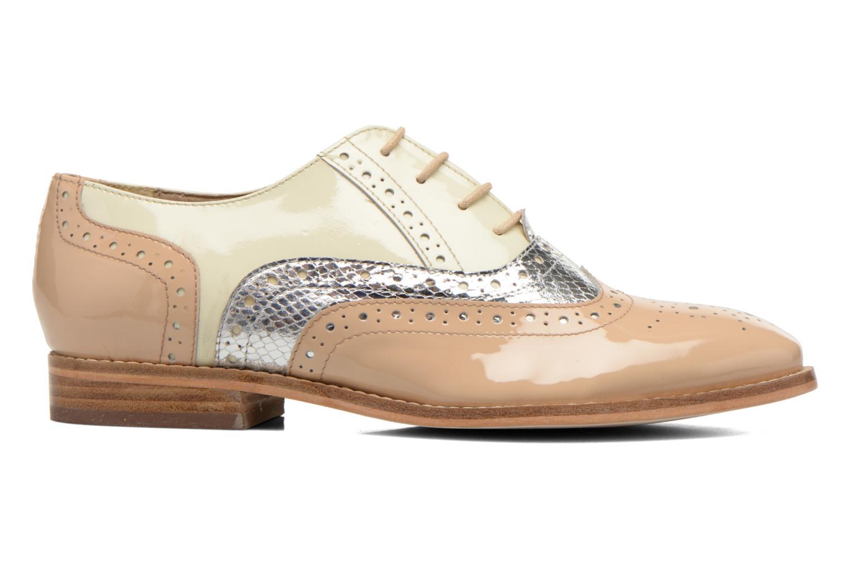 Chaussures à lacets COSMOPARIS Fadia/Ver Beige vue derrière